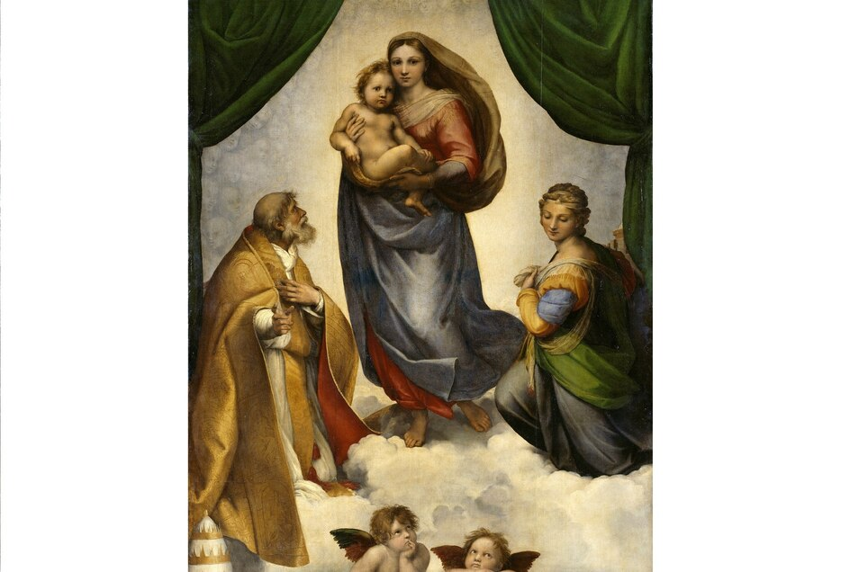 Nur dank der Inspektionsreise eines Angestellten der Dresdner Gemäldegalerie während des Krieges nach Meißen wissen wir, wo die Sixtinische Madonna von Raffael genau versteckt war.