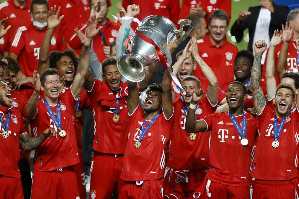 Die Bayern hat die Champions League Ende August im Finale gegen Paris gewonnen. Jetzt geht es wieder los.