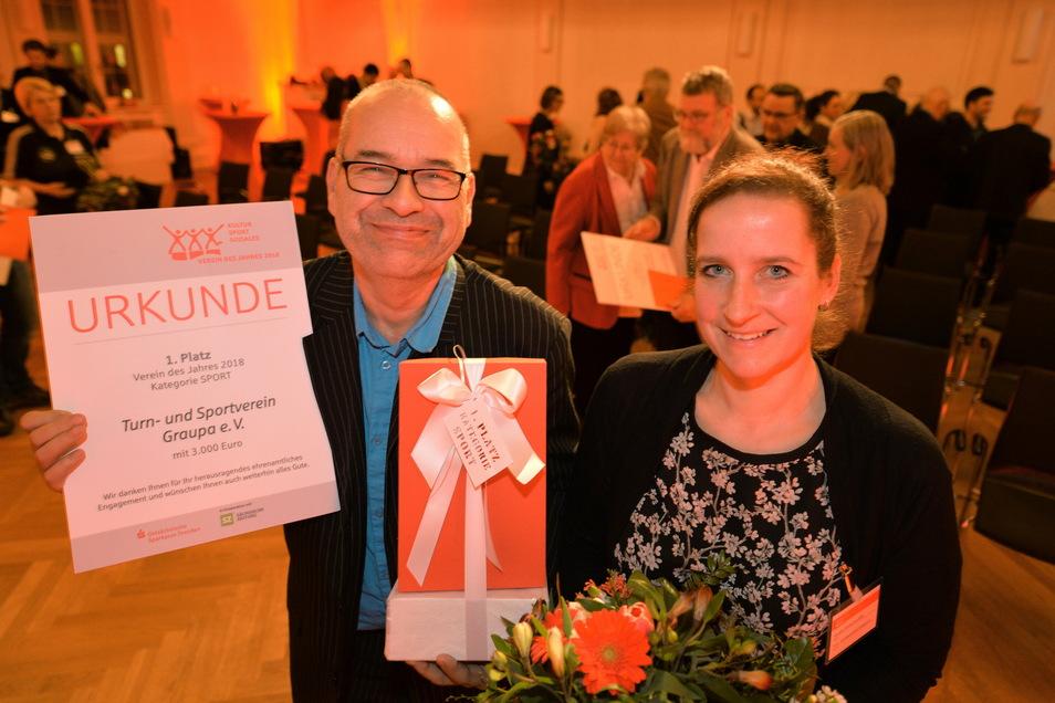 Den Ersten Preis in der Kategorie Sport erhielt auch schon der TSV Graupa.