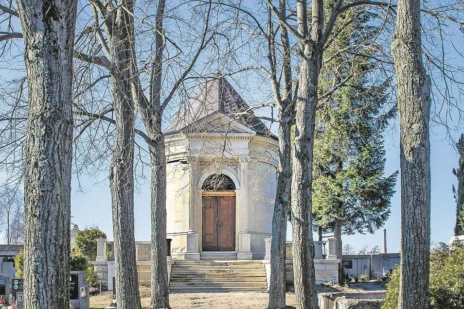 Das Ginzkey-Mausoleum auf dem Friedhof in Vratislavice soll saniert werden.