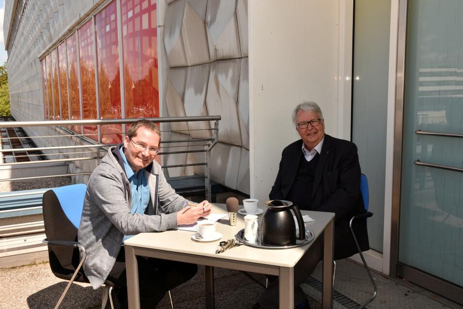 Geert Mackenroth ist Landtagsabgeordneter der CDU und seit 2014 auch Sachsens Ausländerbeauftragter. Von 2004 bis 2009 war er Justizminister. Seit 2010 steht der 71-Jährige dem Landesverband des Weißen Ringes vor.