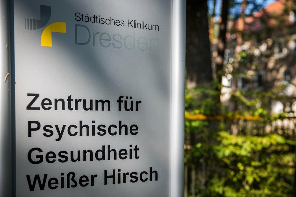 Die Klinik am Weißen Hirsch soll zu einem interdisziplinären Zentrum für die Versorgung von Menschen mit psychischen Erkrankungen erweitert werden.
