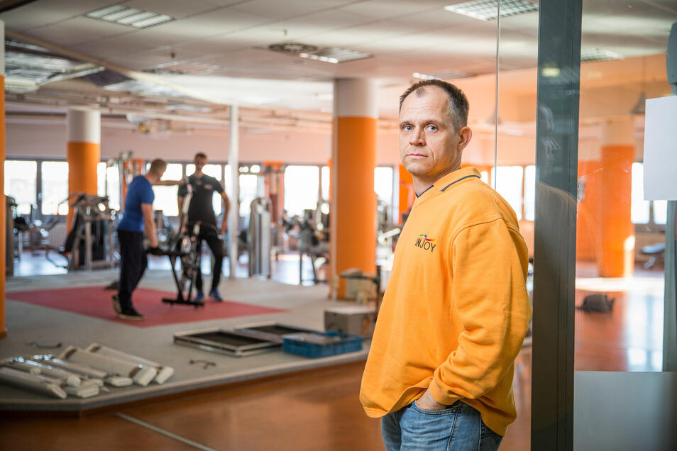 Nach 13 Jahren im Dreikaiserhof muss Thomas Kluttig sein Fitnessstudio räumen. Der Umzug ist mit einigen Hindernissen verbunden.