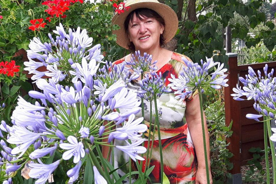 Birgit Gnauck vom Kleingartenverein Höhensonne gibt praktische Gartentipps.