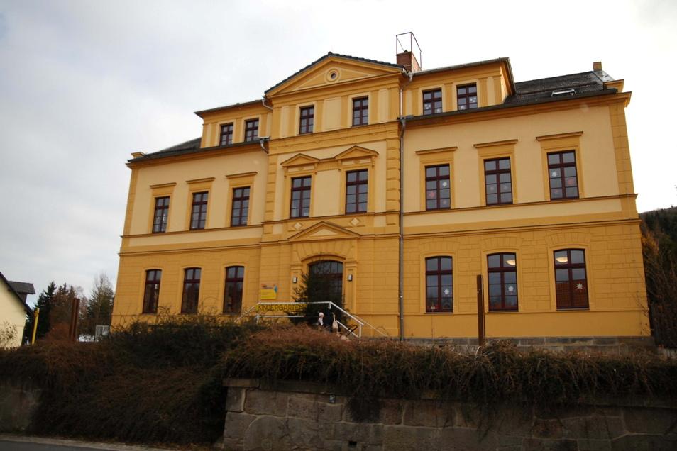 """Die Jonsdorfer Kita """"Kinderland"""" wird von der Awo Oberlausitz betrieben."""