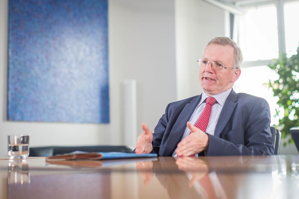 Ordnungsbürgermeister Detlef Sittel (CDU) erklärt, wie Dresdner vor neuen Gefahren geschützt werden.