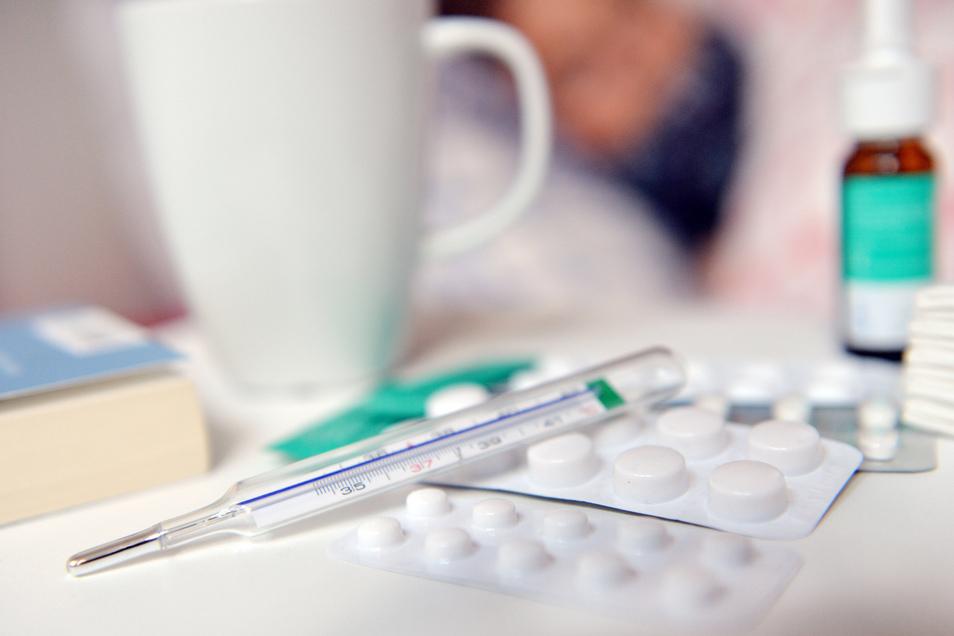 Die Zahl der Influenza-Fälle im Kreis Görlitz steigt und liegt bereits über dem höchsten Wert der vergangenen Saison.