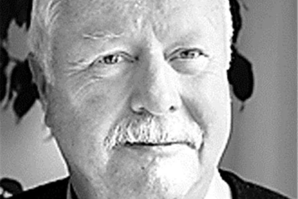 Udo Franke,Vorsitzender der Karl-May-Stiftung, aus Radebeul, Vermessungsingenieur mit eigenem Büro.