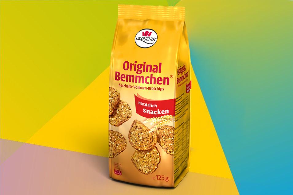 Als herzhafter Snack perfekt zum Auftanken für unterwegs eignen sich die Bemmchen - kleine Brotchips mit wenig Fett.
