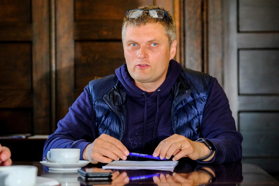 Siegfried Zenker ist seit Juni 2015 Bürgermeister von Weinböhla.