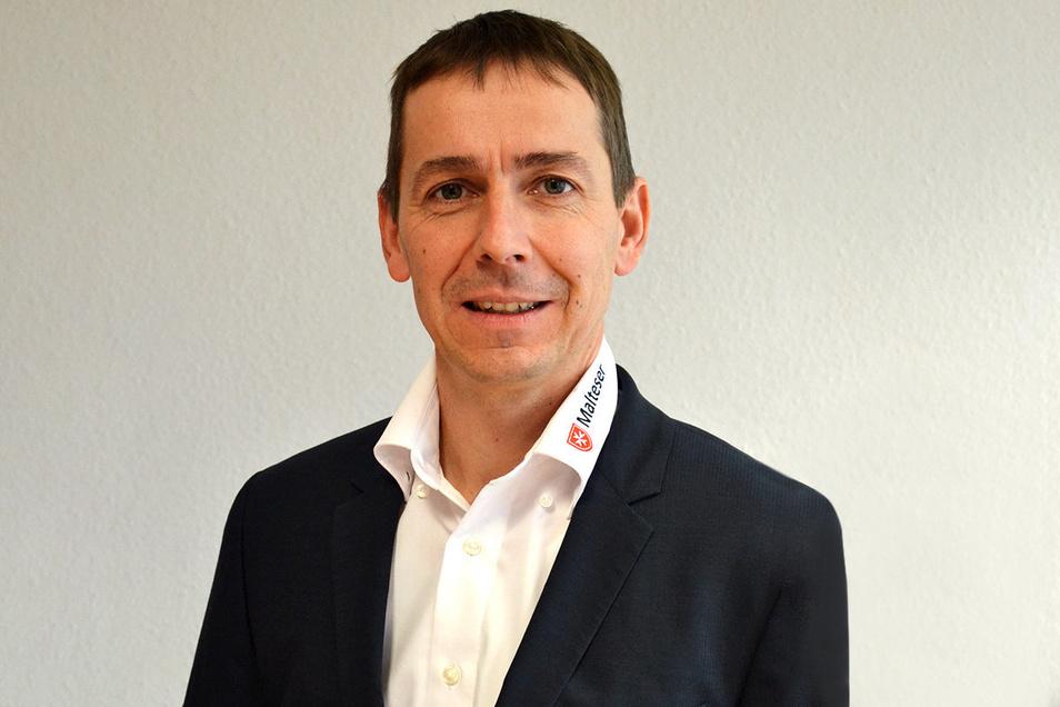 Jan Kliemann ist der stellvertretende Diözesan-Geschäftsführer des Malteser e.V. in Dresden.