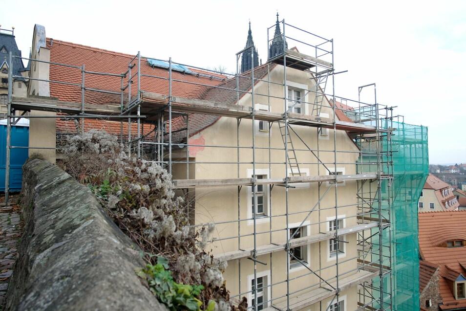Ursprünglich sollte das Brückenhaus unterhalb der Meißner Albrechtsburg mit einem Hotel im Kornhaus entwickelt werden. Doch nun wird ein Wohnhaus daraus.