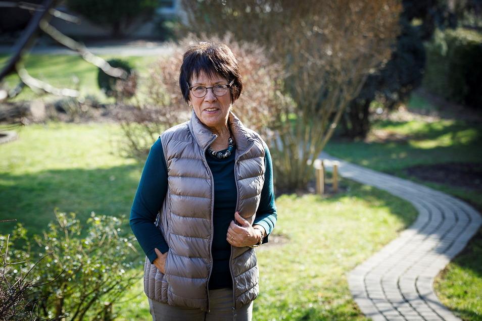 """Die frühere SPD-Politikerin Renate Schwarze wurde 1946 in Görlitz geboren. """"Wir waren die Wiedersehenskinder"""", sagt sie über ihren im ersten Nachkriegsjahr geborenen Jahrgang."""