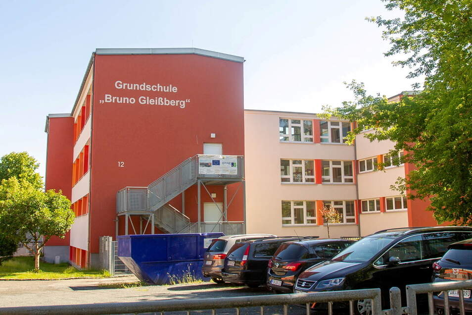 Eine der drei Heidenauer Grundschulen: die Bruno-Gleißberg-Schule.