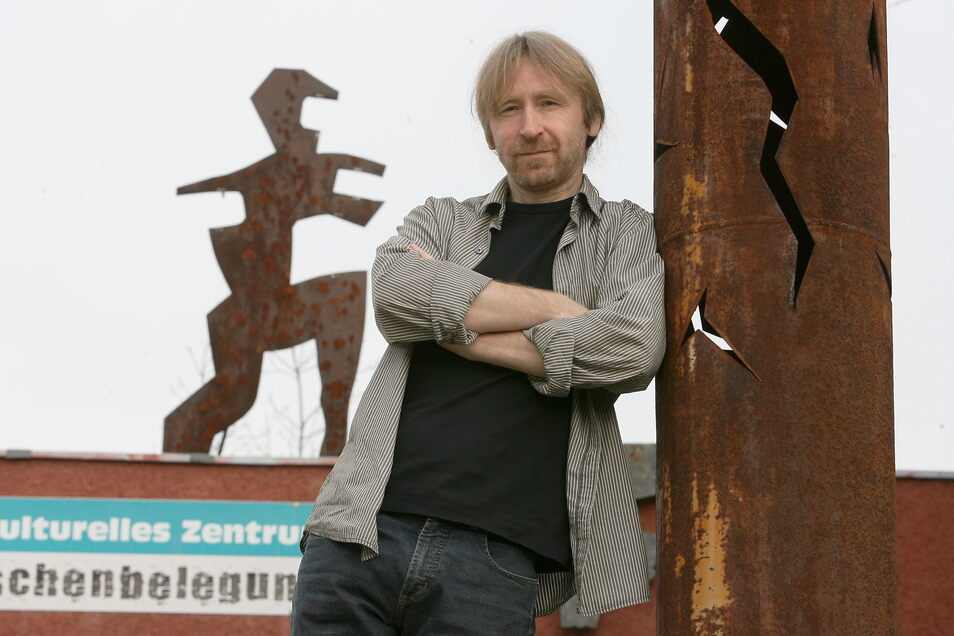Uwe Proksch von der Kulturfabrik Hoyerswerda meint: Es braucht Arbeitsplätze im intellektuellen Bereich.