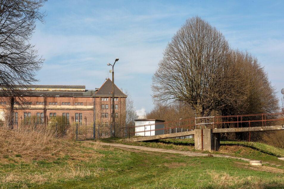 Inzwischen erinnert nur noch das Maschinenhaus an die Zeit, in dem bis Ende 2017 das Kraftwerksmuseum untergebracht war.