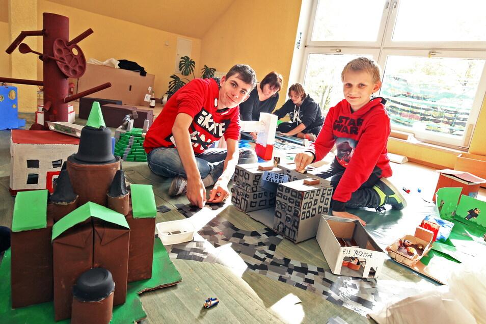 In Riesa gab es 2017 ein Minecraft-Projekt im Outlaw.