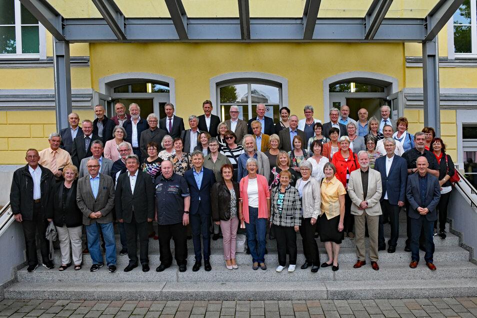 Seit 2003 ist es Tradition, dass die Absolventen des Döbelner Lessing-Gymnasiums zur Feier des Goldenen und Diamantenen Abiturs vom Schulförderverein eingeladen werden. Dieser machte die Feier trotz Corona möglich.