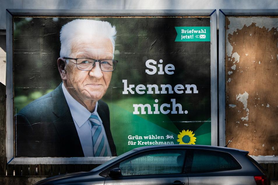 Gut möglich, dass Baden-Württembergs grüner Ministerpräsident Winfried Kretschmann nach der Wahl mit SPD und FDP koaliert.