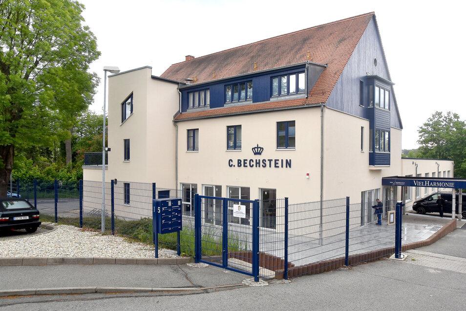 Im neuen Kultur- und Gästehaus von Bechstein in der Nordstraße in Seifhennersdorf hat auch die Kreismusikschule eine Außenstelle.