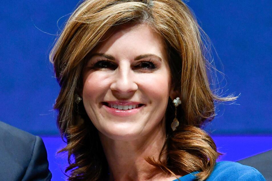 Jennifer Morgan führt den Softwareriesen SAP seit Oktober als Co-Chefin.