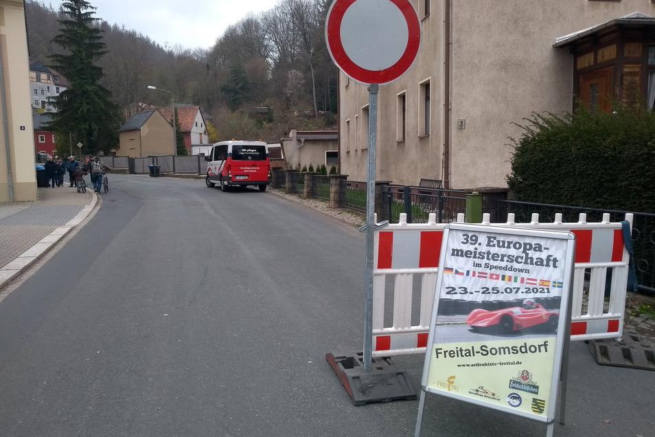 Für den Test war die Höckendorfer Straße am Sonntag gesperrt. Viele zeigten Verständnis dafür.