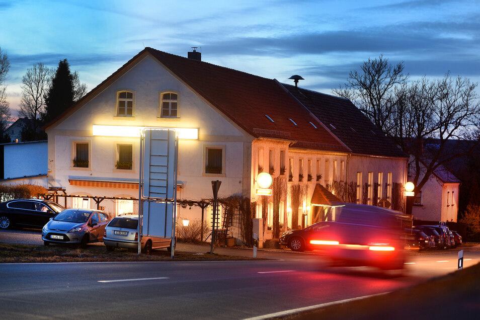 """Trotz Bauarbeiten ist die Gaststätte """"Zum Gütchen"""" in Mittelherwigsdorf - hier ein Archivbild- geöffnet."""
