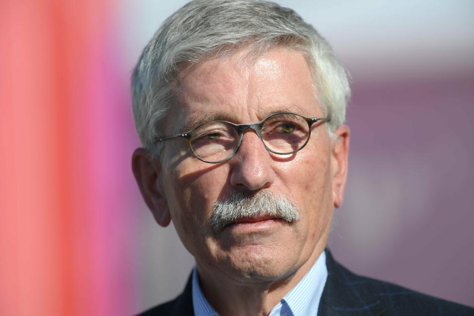Umstrittener Bestsellerautor und früherer Finanzsenator von Berlin: Thilo Sarrazin