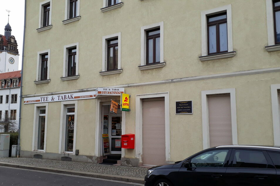 In den Tabakladen Hartmann gegenüber dem Bahnhof Potschappel wurde am Heiligabend krimireif eingebrochen.
