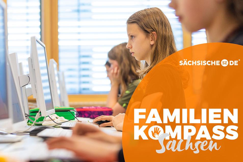 Das Gymnasium Dresden-Pieschen ist die Pilotschule des Kultusministeriums für Medienbildung, Informatik und digitales Lernen. Hier entwirft die Klasse 6D gerade Figuren, die ein 3D-Drucker später ausspuckt.