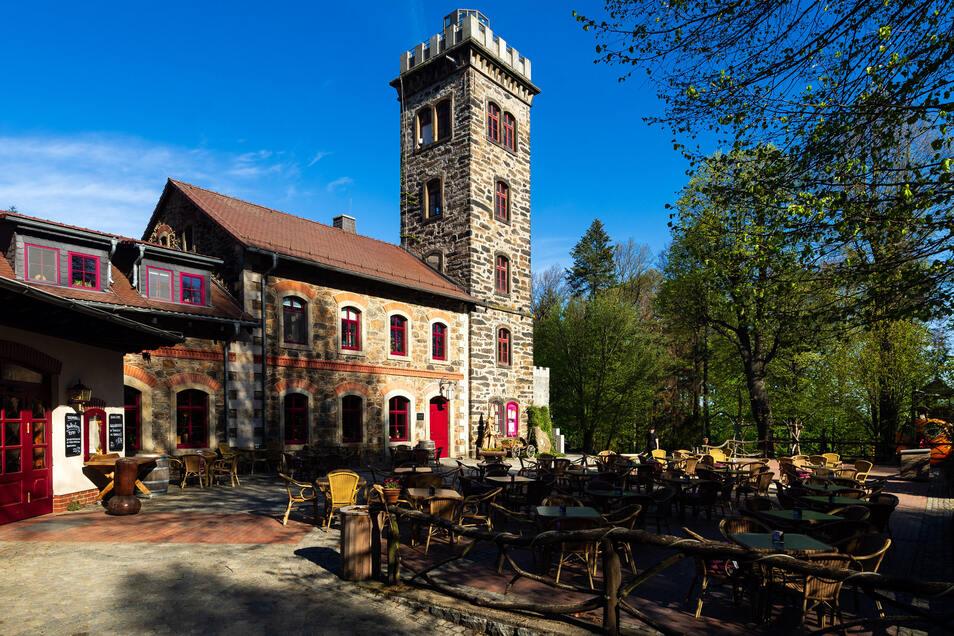 Der Gasthof auf dem Butterberg.