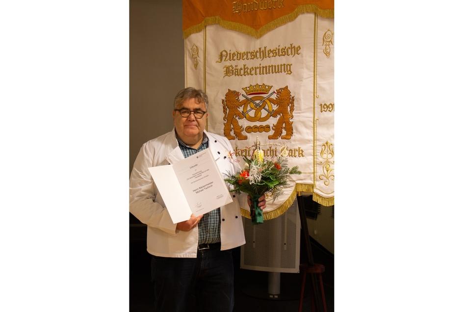 Bäckermeister Michael Tschirch wurde ausgezeichnet.