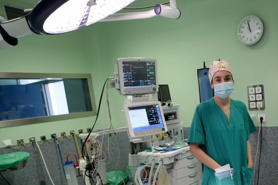 Cristina Marin Campos arbeitet im Hospital Universitario de La Princesa in Madrid.