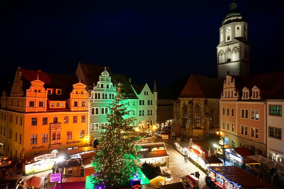 Macht sich auch für die Betreiber der Meißner Geschäfte bezahlt: Der Weihnachtsmarkt sorgt alljährlich für gute Umsätze in der Porzellanstadt.