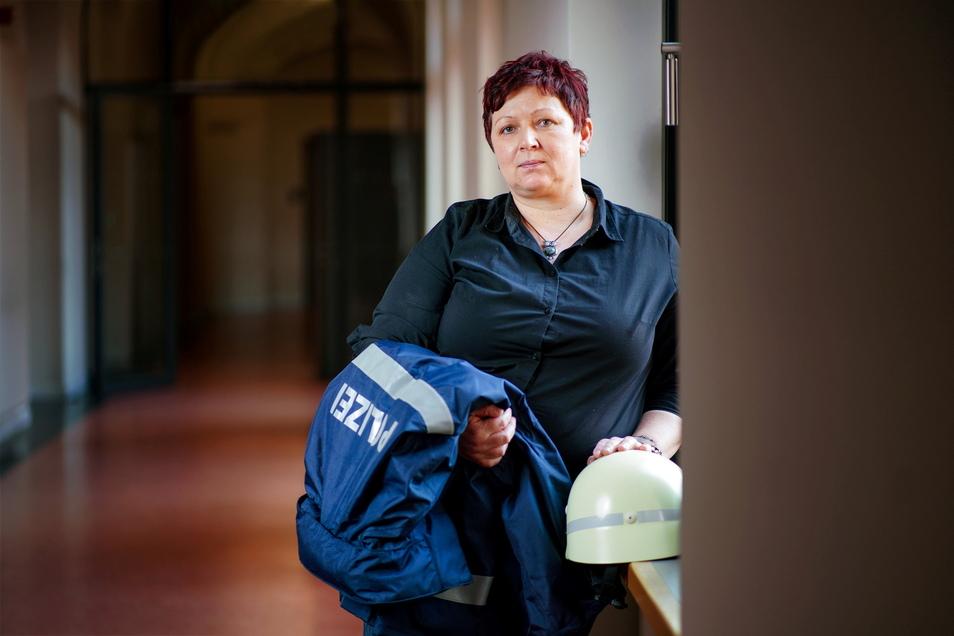 Kriminalhauptkommissarin Jana Berger hat schon viele verkohlte Wohnungen gesehen. Doch der Brand in der Marschnerstraße hat sie besonders bewegt.
