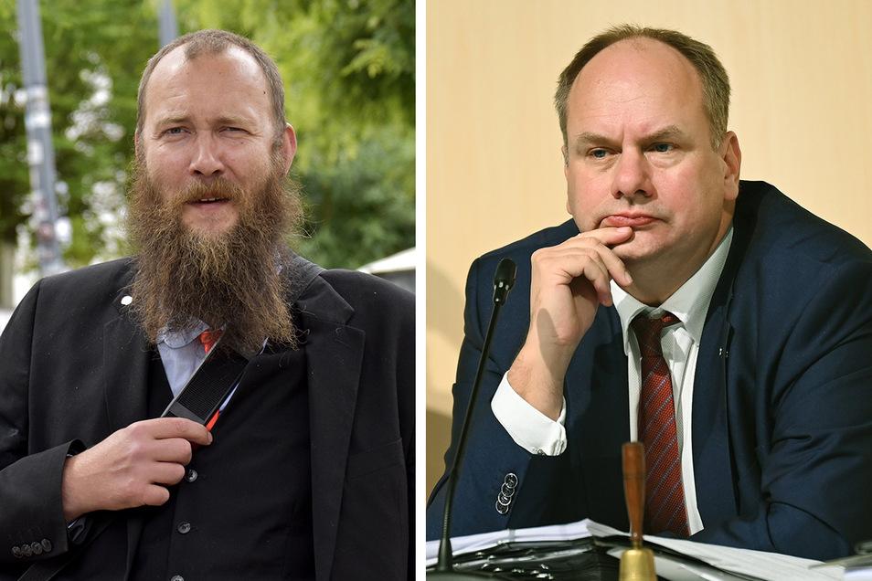Oberbürgermeister Dirk Hilbert (FDP) hat Anträge eines Stadtrates aus dem Ratsinformationssystem entfernen lassen.