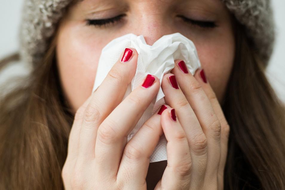 In diesem Jahr hat es viel weniger Erkältungsfälle gegeben als üblich.
