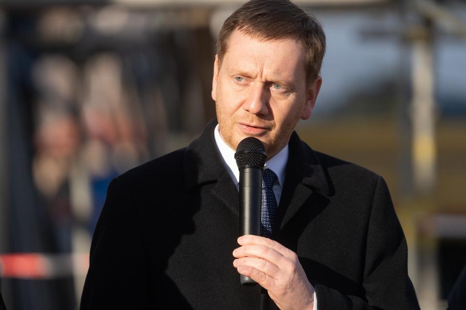 Prominenter Gastredner: Sachsens Ministerpräsident Michael Kretschmer (CDU) kommt am 14. März nach Neustadt.