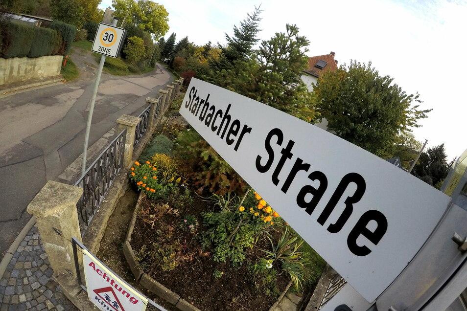 Die Reparatur der Starbacher Straße steht auf der Wunschliste der Gleisberger für den Haushalt 2021.