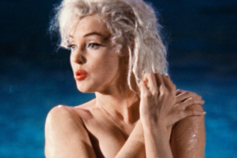 Dem Fotografen war zuvor klar: Die besten Fotos von Marilyn Monroe würde er während des Drehs am Pool machen können.