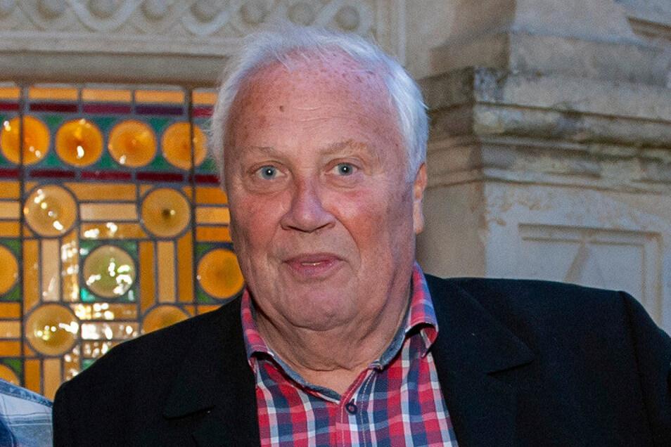 War mit seinem Fußball-Talk oft im Schönfelder Traumschloss zu Gast: Gert Zimmermann.