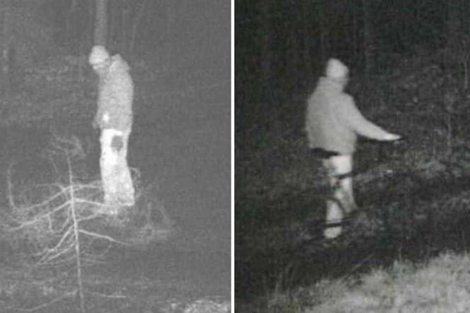 Mit diesen Fotos suchte die Polizeidirektion Görlitz im September 2019 nach dem Mann, der immer wieder Autofahrer im Oberland gefährdet haben soll.