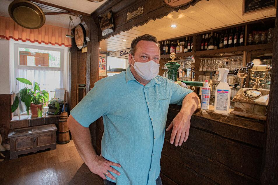 Die Altertumsschäke in Kamenz sucht seit Wochen Personal. Kevin Ehlert hat die Erfahrung gemacht, dass sich von zehn Leuten, die sich vorstellen, neun nie wieder melden.