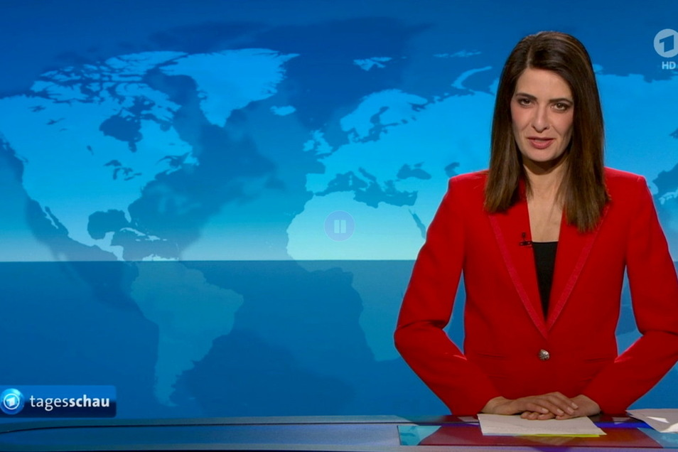 Linda Zervakis hat am Montagabend in der ARD-«Tagesschau» zum letzten Mal die aktuellen Nachrichten präsentiert.