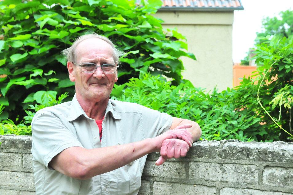 Andreas Mißbach (58) will am ersten Septemberwochenende in Riesa zum guten Gelingen beitragen.