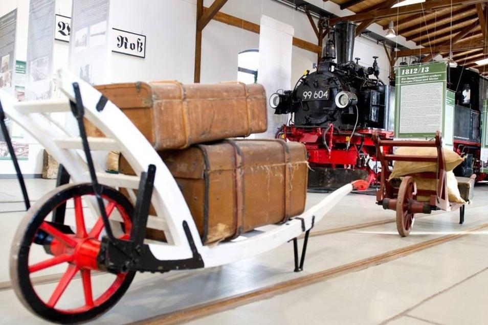Auch diese Vierzylinder-Naßdampf-Lokomotive aus dem Jahr 1914 zählt zu den Exponaten des Museums.