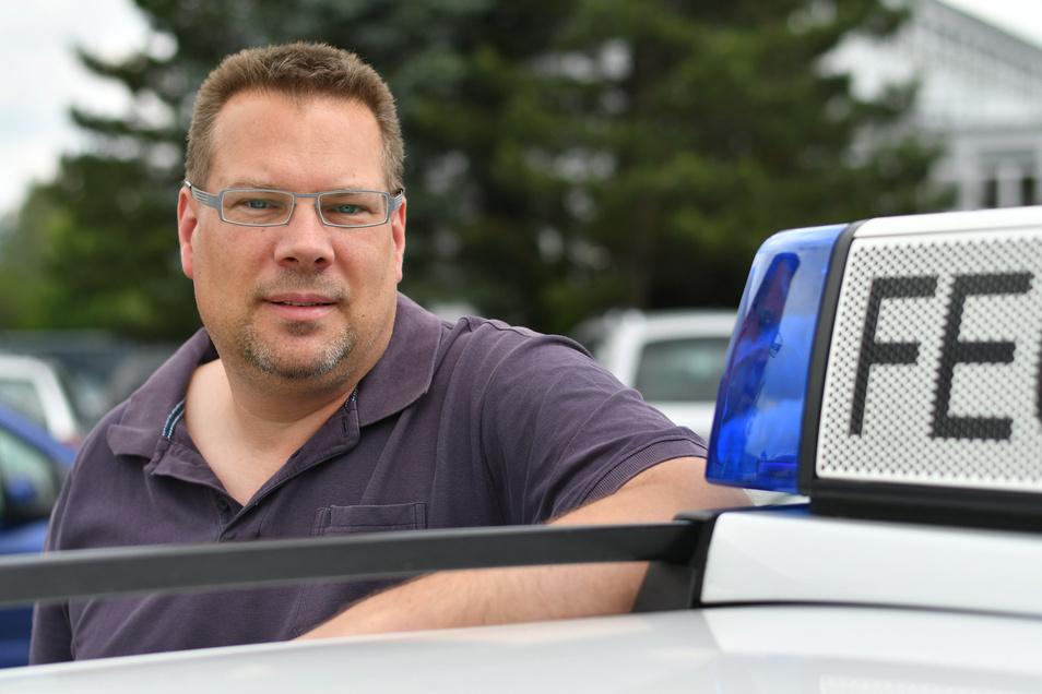 Holger Heckmann ist neuer Bezirksbrandmeister für den Freistaat Sachsen.