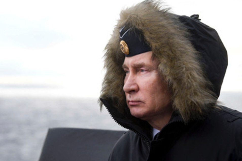 Russland führt vor der Krim immer wieder Militärübung im Schwarzen Meer aus.