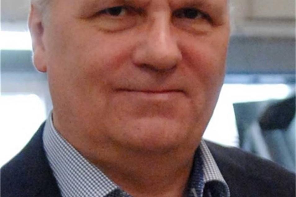 Bert Handschick ist Chef des Unternehmerverbandes Zittau und Umgebung und Geschäftsführer der RTT-Steinert GmbH.