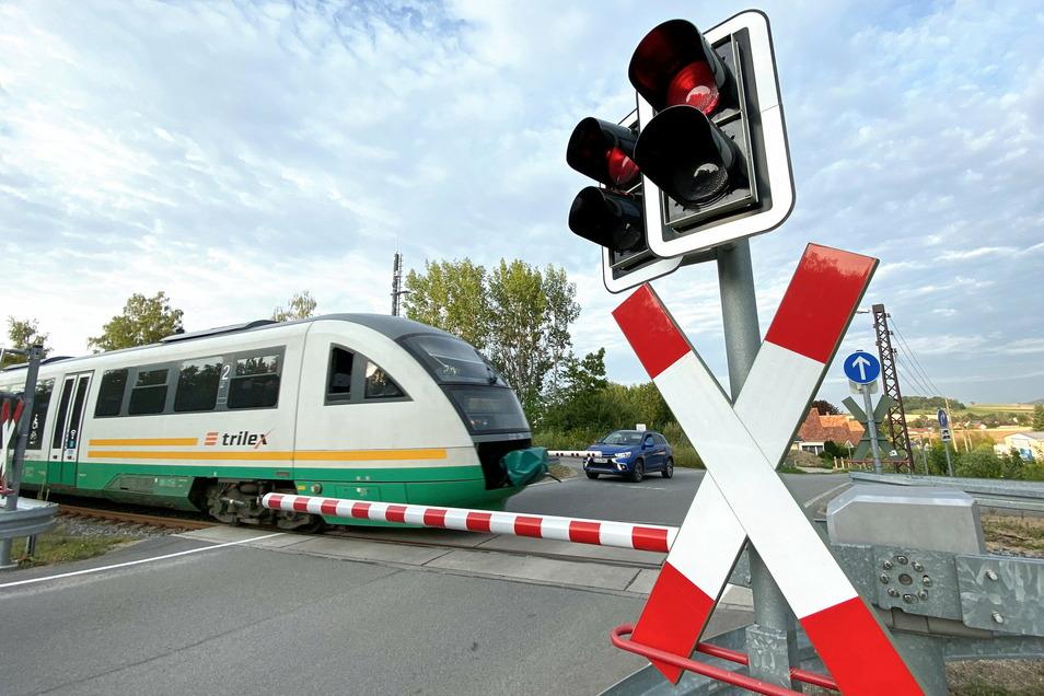 Der Trilex fährt momentan nur noch bis Zittau.